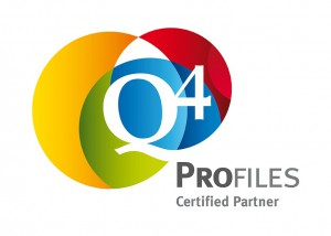 Q4 Profiles Certified Partner logo