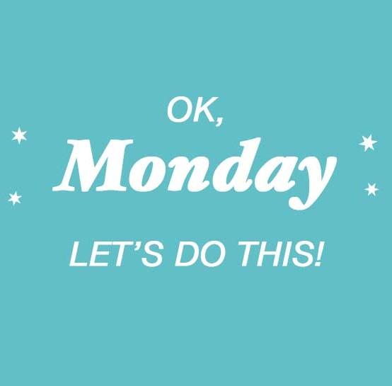 Maandag…kom maar op!