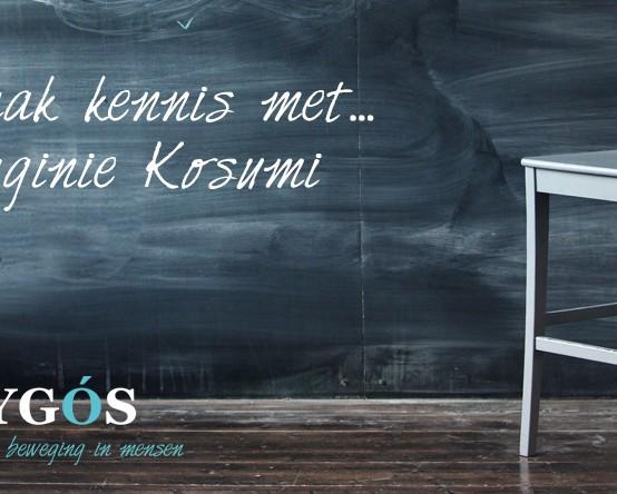 Virginie Kosumi nieuw teamlid bij Odygós
